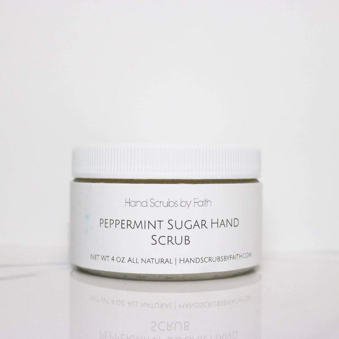Peppermint Sugar Hand Scrub - Love thy Neighbor Store