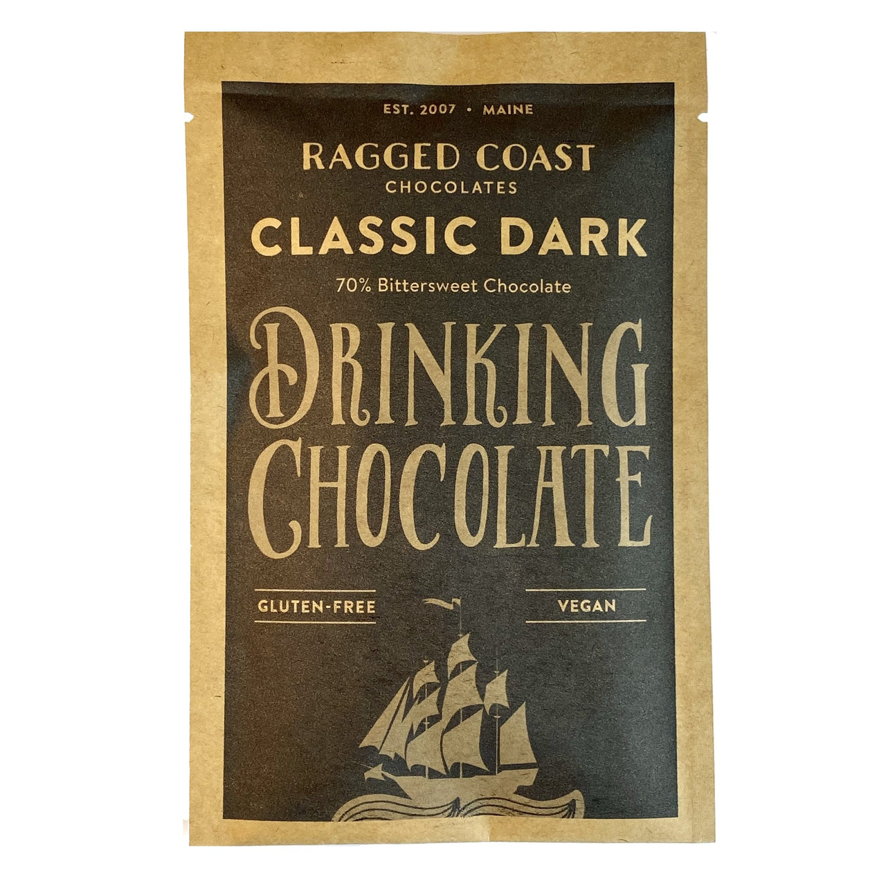 Classic Dark Single Serve Drinking Chocolates