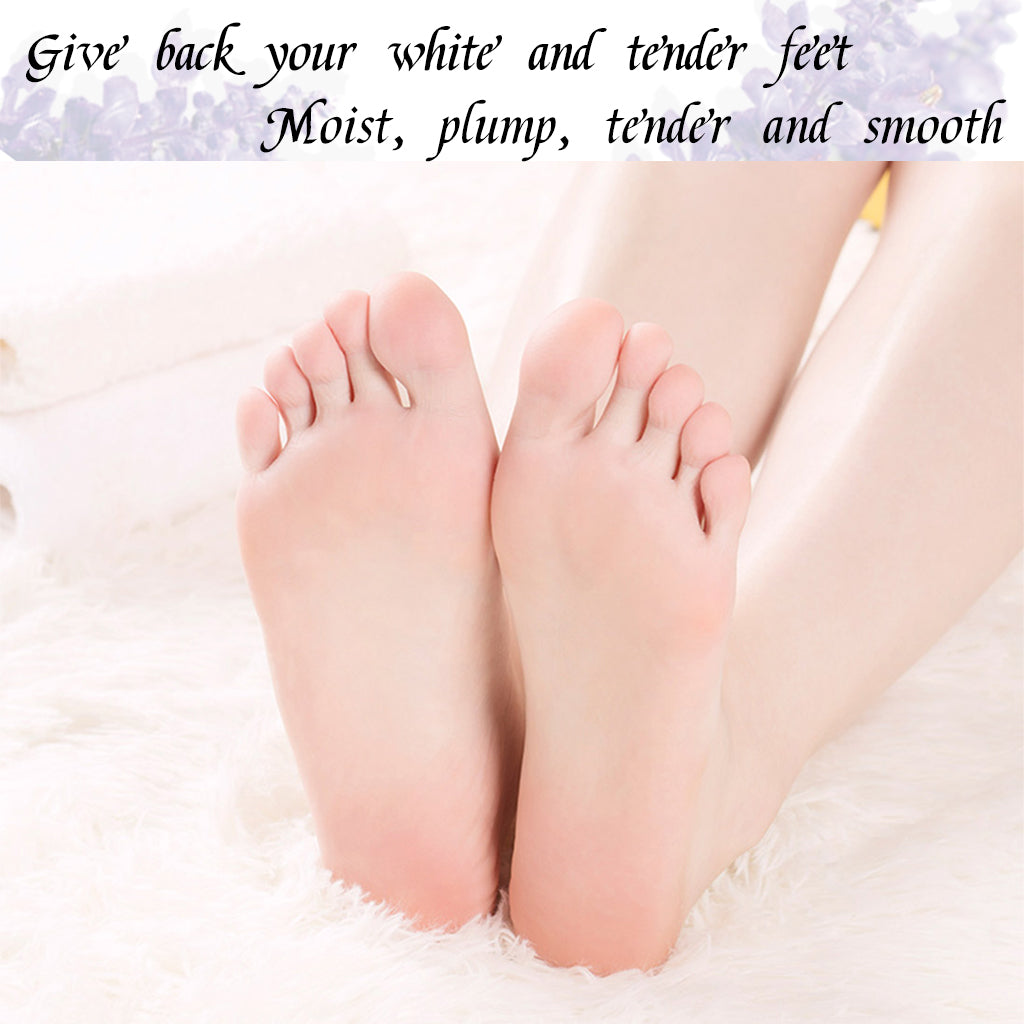 Foot Peel Mask 2 Pairs Lavender Scented