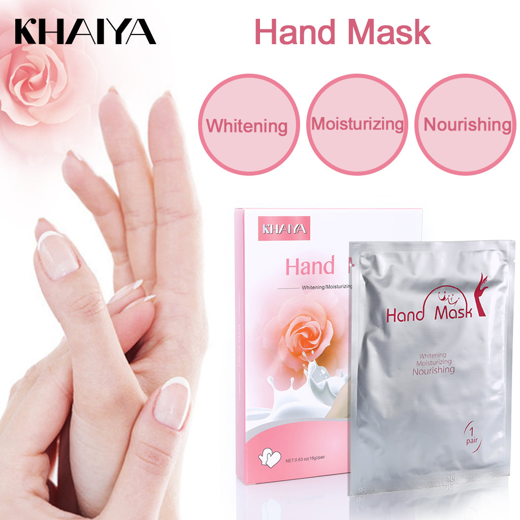 Hand Mask Hydrating & Moisturizing Gloves for Women and Men (2 Pairs)