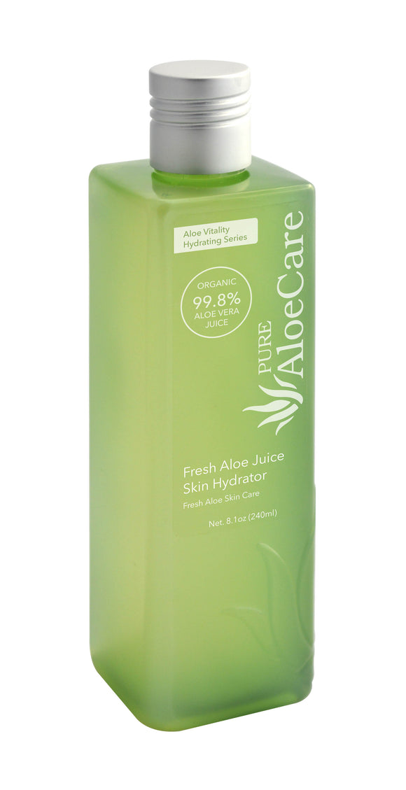 Fresh Aloe Juice Skin Hydrator
