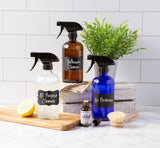Use for creating massage oils, cleaning sprays, beauty mixtures, fresh scents, watering your plants & succulents & more!