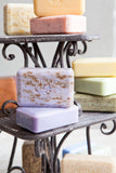Shea butter enriched soaps come in 250g and 150g sizes. Quad-Milled. Shea Butter Enriched. No Animal Testing. Free of Parabens, Ethyl Alcohol, Phenoxyethanol, and DEA.