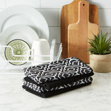 MICROFIBER BLACK LATTICE DT S/4