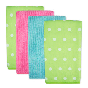 Mf Dots Dt Green Set Of 4
