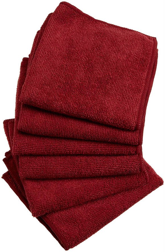 Wine Essential Microfiber Dishcloth Set/6