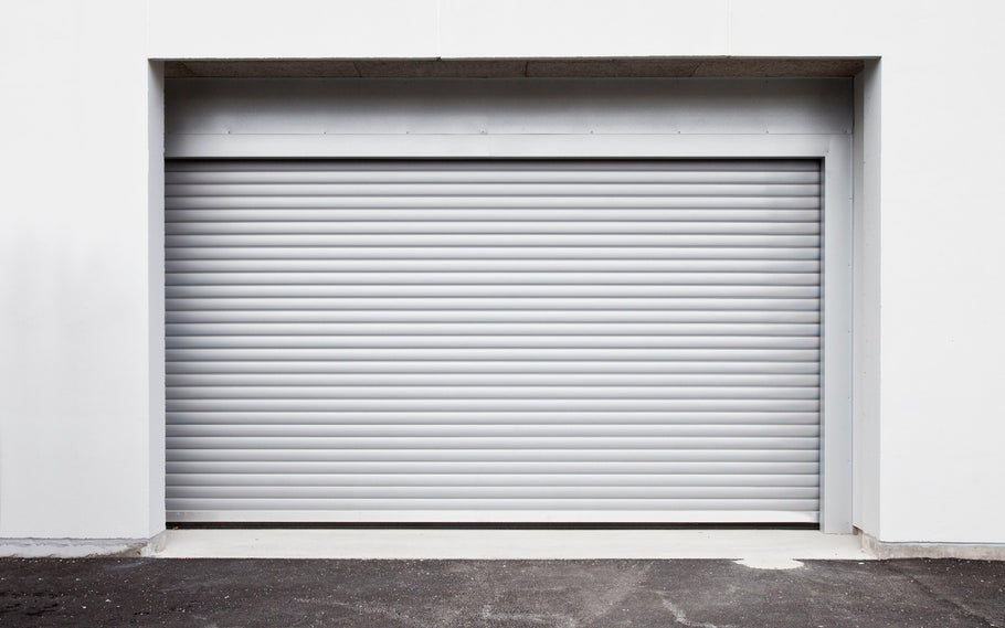 How to Paint a Roll-Up Garage Door