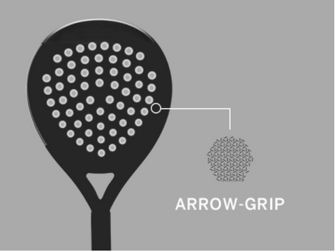 Tecnologia Wilson Arrow Grip