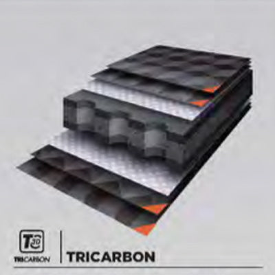 Tricarbon technology on Bullpadel racket