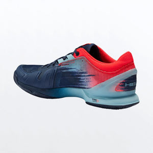 Padel Shoes Head Sprint Sanyo 3.0 Blue and Red