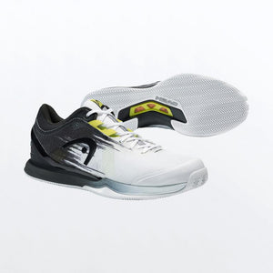 Padel Head Sprint Sanyo 3.0 White and Yellow Shoes