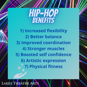 The benefits of HipHop Dance