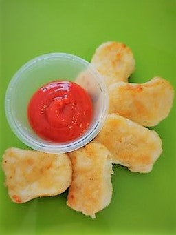 Free Range Chicken Nuggets with Tomato Sauce (5)