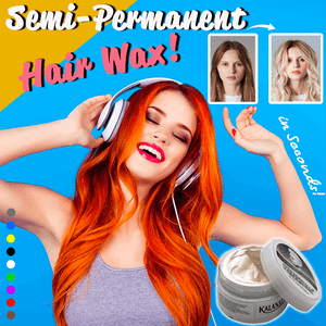 Semi-Permanent Hair Wax