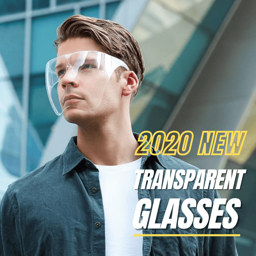 2020 NEW Fashion Style Transparent Glasses