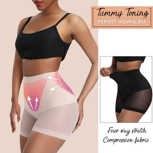 Hourglass High Waisted Tummy Shaper Shorts