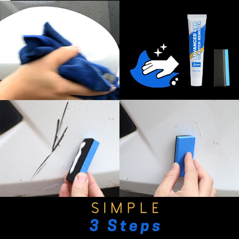 Advanced Car Scratch Remover Set