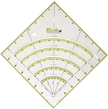 QuiltArc Circle Cutter Ruler