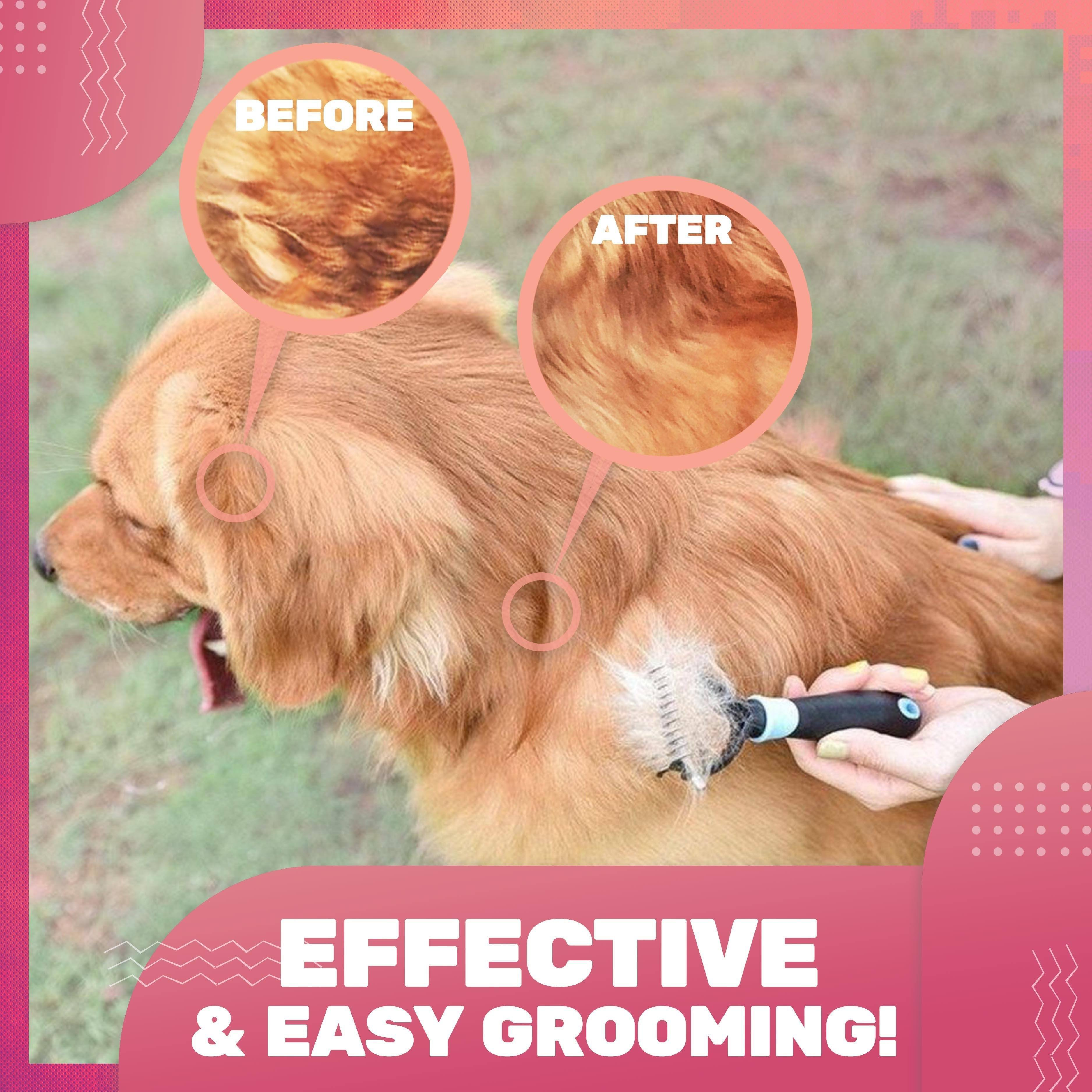 All-in-1 Pet Grooming Comb