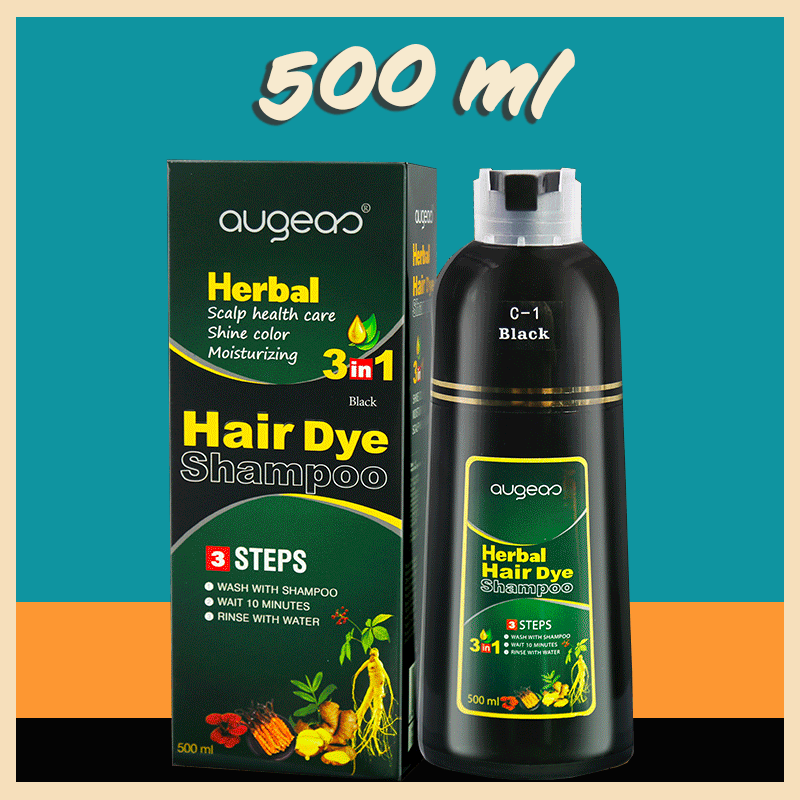 Instant Herbal Hair Colouring Shampoo