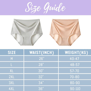 Ice Silk High Waist Panty
