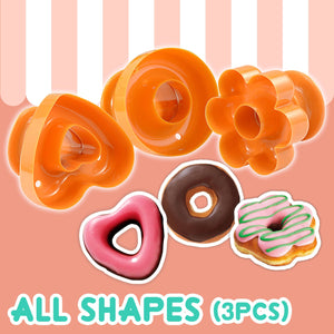 Donut Maker Set (3Pcs)