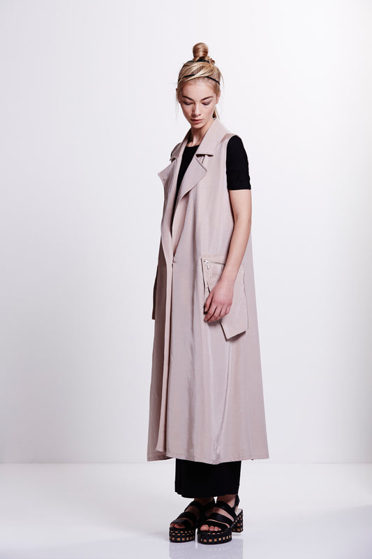 Avray Sleeveless Trench