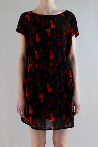 Sérigraphie Tunic - Flame/Black