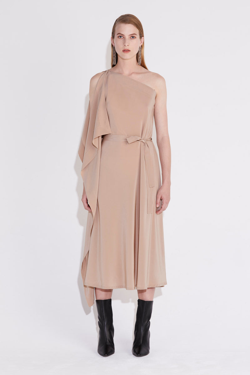 Azimuth Dress - Ecru