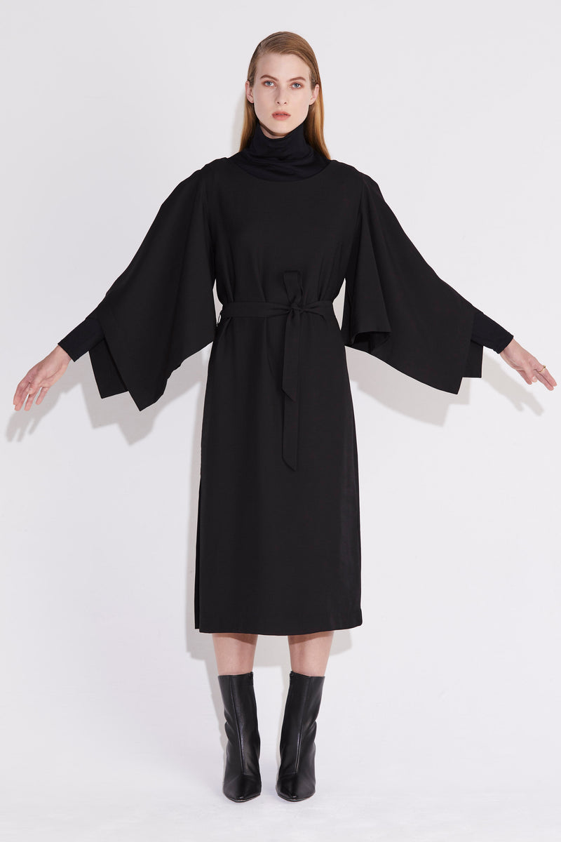 Cartesian Dress - Black