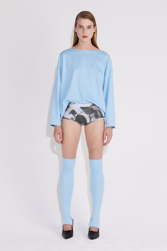 Chroma Sweater - Powder Blue