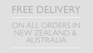 Free delivery on all orders in New Zealand
