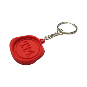 Taskmaster Wax Seal Keyring - in stock now