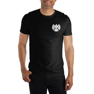 Marvel S.H.I.E.L.D Black Short-Sleeve T-Shirt