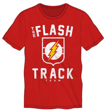 Load image into Gallery viewer, The Flash Track Team Logo Men's Red T-Shirt Tee Shirt