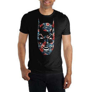 Batman Flower Face T-shirt Tee Shirt
