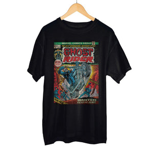 Marvel Ghost Rider Comic Art Short-Sleeve T-Shirt