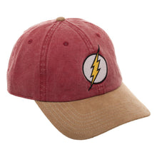 Load image into Gallery viewer, DC Flash Hat - DC Inspired Flash Hat