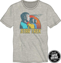 Load image into Gallery viewer, Bioworld StarTrek Planet Landscape with Sunset Shirt