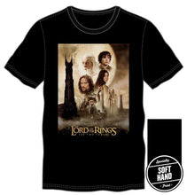 Load image into Gallery viewer, Black Lord of the Rings The Two Towers Character Shirt,