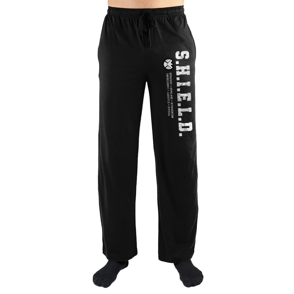 Marvel Clothing Captain Marvel S.H.I.E.L.D Sleep Pajama Pants Pajamas