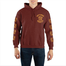 Load image into Gallery viewer, Harry Potter Gryffindor Quidditch Pullover Hooded Sweatshirt
