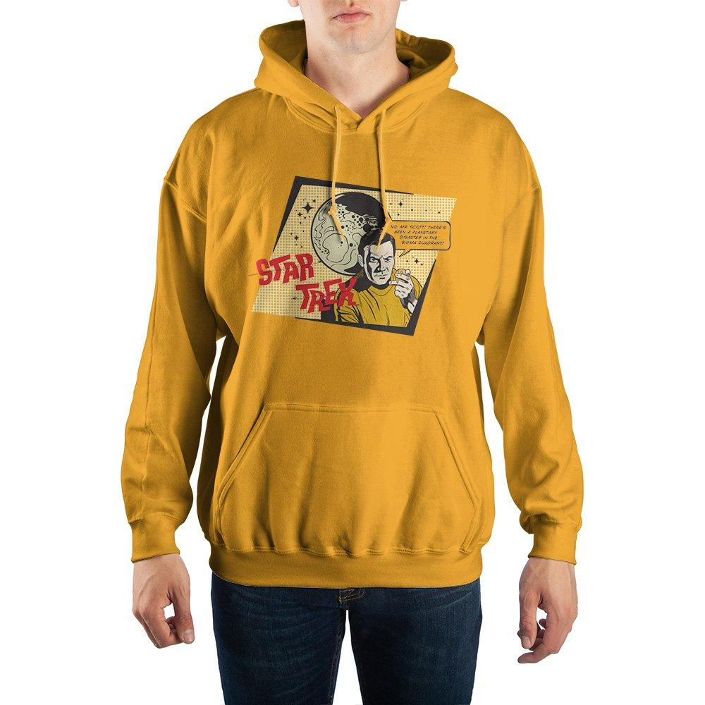 Star Trek Comic Design Pullover Hoodie Sweatshirt