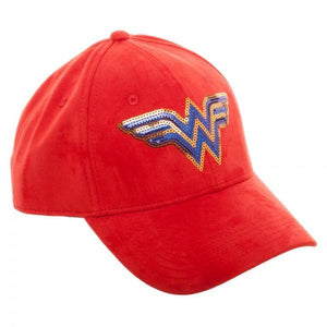 Wonder Woman Sequin Suede Traditional