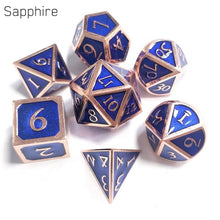 Load image into Gallery viewer, 7pcs / Metal Dice set  For RPG games