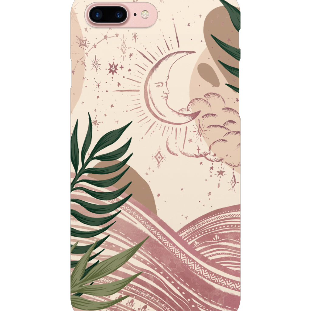 iPhone 8 Plus | Celestial Moon Phone Case - Felicity & Ink