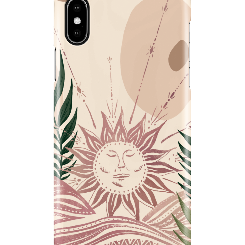 iPhone XS Max | Celestial Sun Phone Case - Felicity & Ink