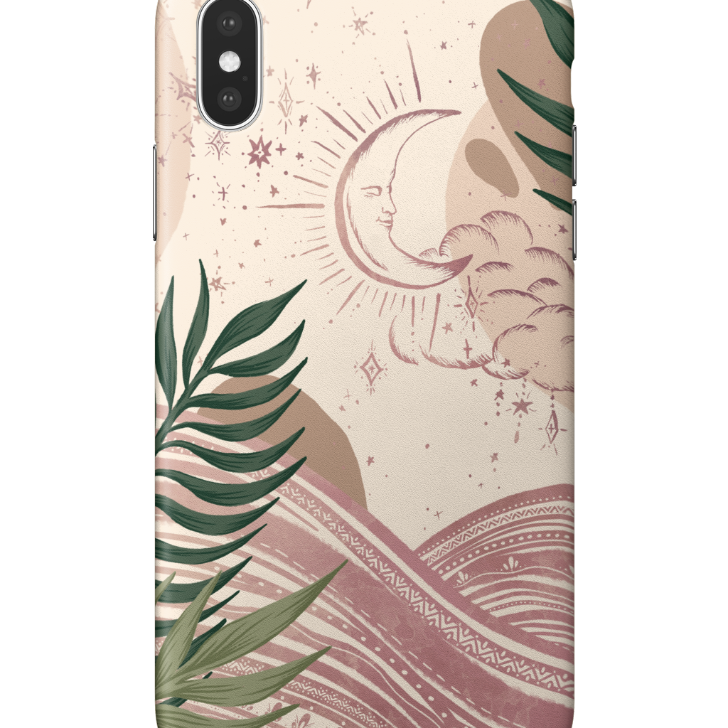 iPhone X | Celestial Moon Phone Case - Felicity & Ink