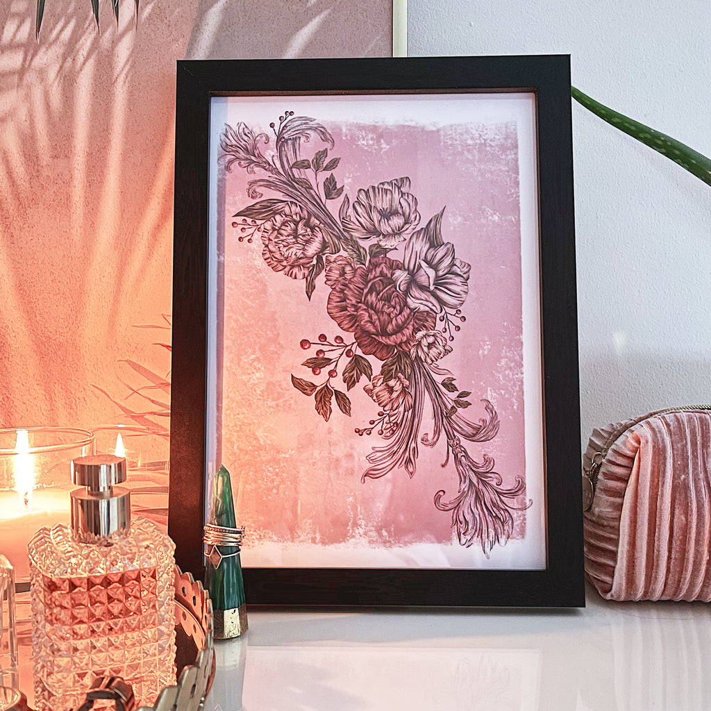 Etherial Romance | A4 & A5 Art Prints - Felicity & Ink