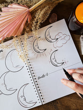 How To Doodle Book | Celestial Boho Edition - Felicity & Ink